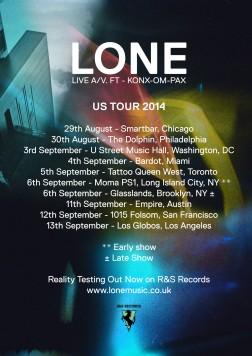 US tour 2014